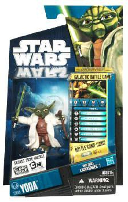 Star Wars The Clone Wars Clone Wars 2010 Yoda Action Figure CW05