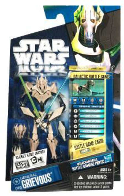 Star Wars The Clone Wars Clone Wars 2010 General Grievous Action Figure CW10