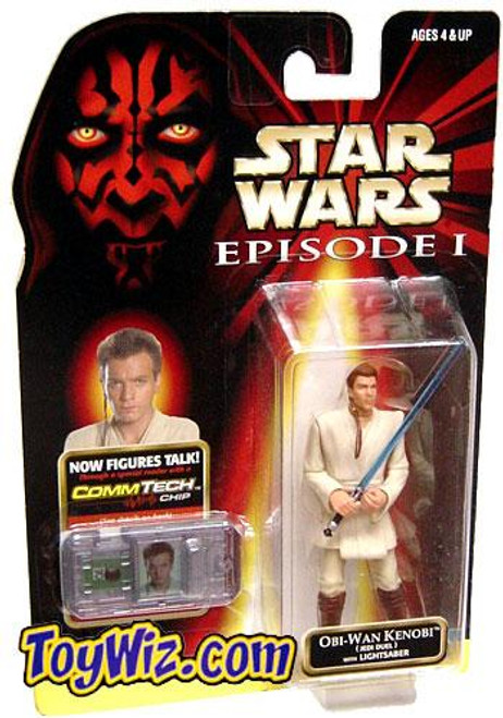 Star Wars The Phantom Menace Episode I Basic 1999 Obi-Wan Kenobi Action Figure [Jedi Duel]