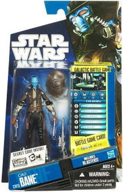 Star Wars The Clone Wars Clone Wars 2010 Cad Bane Action Figure CW13