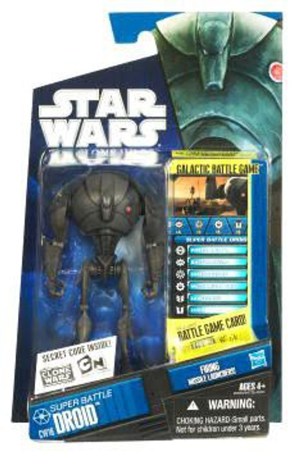 Star Wars The Clone Wars Clone Wars 2010 Super Battle Droid Action Figure CW16