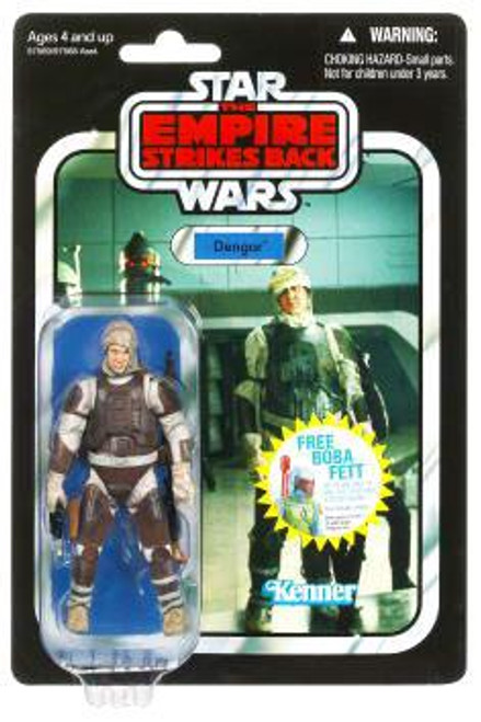 Star Wars The Empire Strikes Back Vintage Collection 2010 Dengar Action Figure #01