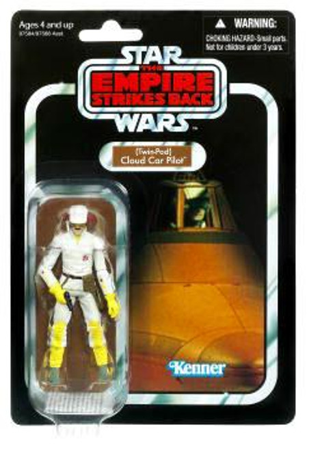 Star Wars The Empire Strikes Back Vintage Collection 2010 Twin-Pod Cloud Car Pilot Action Figure #11
