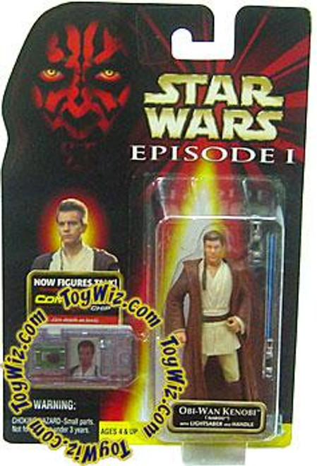 Star Wars The Phantom Menace Episode I Basic 1999 Obi-Wan Kenobi Action Figure [Naboo]