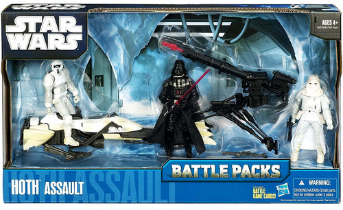 Star Wars The Empire Strikes Back Battle Packs 2010 Hoth Assault Action Figure Set