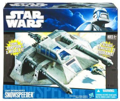 Star Wars Empire Strikes Back Vehicles 2010 Luke Skywalker's Snowspeeder Action Figure Vehicle