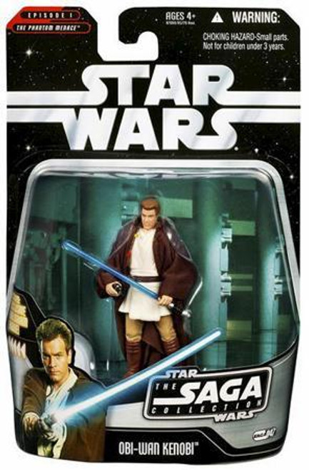 Star Wars The Phantom Menace Saga Collection 2006 Obi-Wan Kenobi Action Figure #47 [Padawan]