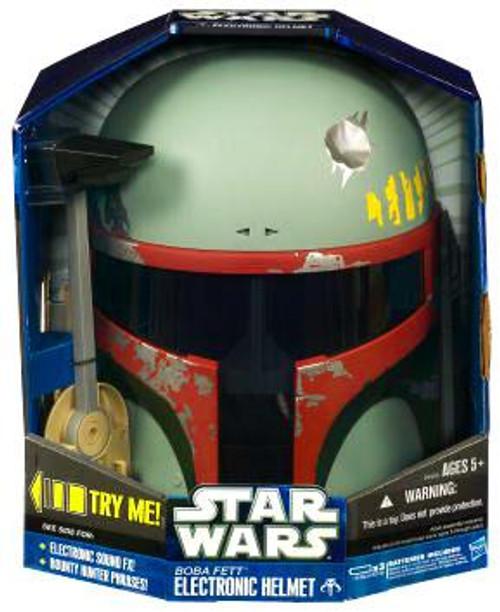 Star Wars Empire Strikes Back Electronic Helmets Boba Fett Electronic Helmet