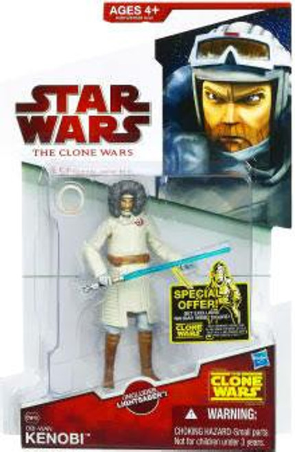 Star Wars The Clone Wars Clone Wars 2009 Obi-Wan Kenobi Action Figure CW48 [Cold Weather Gear]