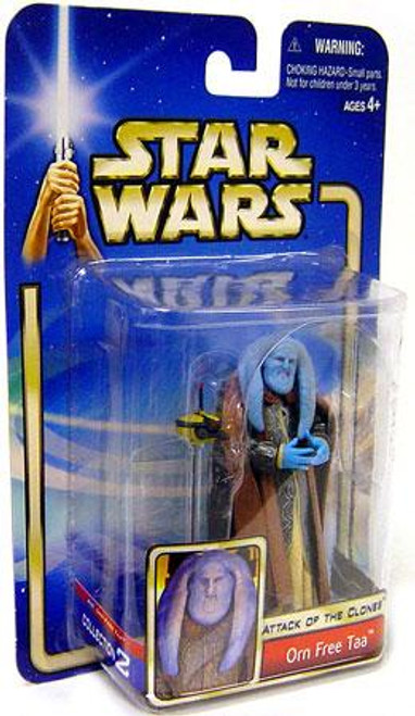 Star Wars Attack of the Clones Saga 2002 Orn Free Taa Action Figure