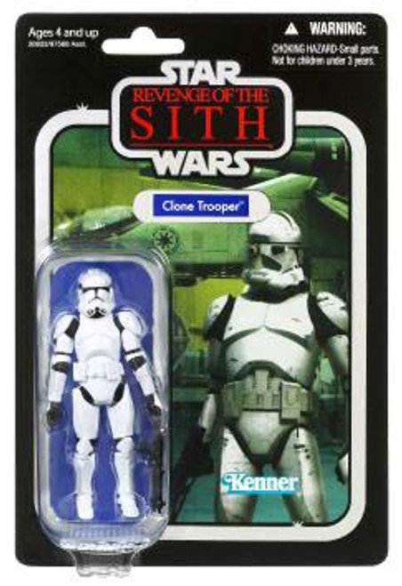 Star Wars Revenge of the Sith Vintage Collection 2010 Clone Trooper Action Figure #15
