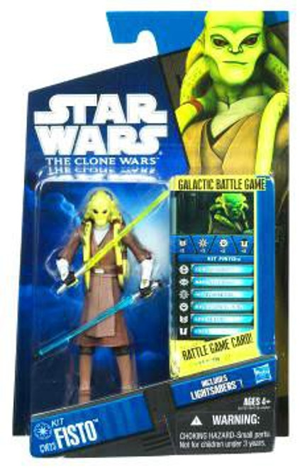 Star Wars The Clone Wars Clone Wars 2010 Kit Fisto Action Figure CW23