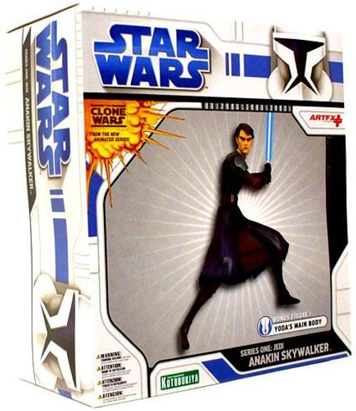 Star Wars ArtFX Clone Wars Series 1 Jedi Anakin Skywalker 1/10 Vinyl Statue