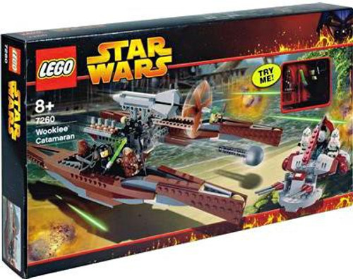LEGO Star Wars Revenge of the Sith Wookie Catamaran Set #7260 [Damaged Package]