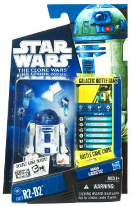 Star Wars The Clone Wars Clone Wars 2010 R2-D2 Action Figure CW27