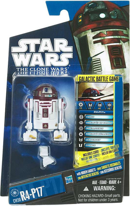 Star Wars The Clone Wars Clone Wars 2010 R4-P17 Action Figure CW30
