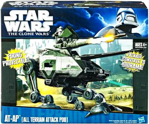Star Wars The Clone Wars Vehicles 2010 AT-AP Action Figure Vehicle [All Terrain Attack Pod]