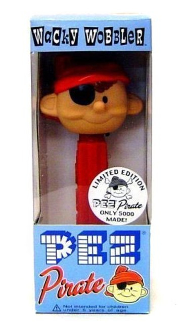 Funko Wacky Wobbler Pez Pirate Bobble Head