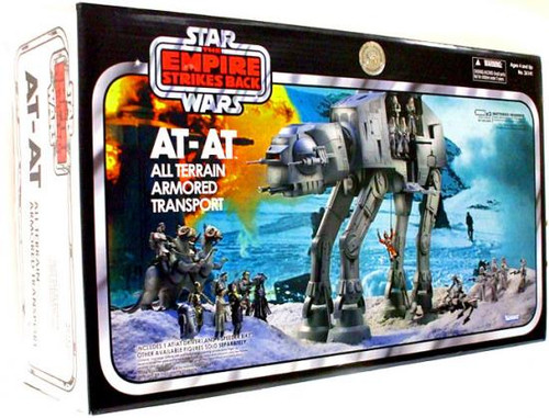 Star Wars Empire Strikes Back Vintage Collection Vehicles AT-AT Exclusive Action Figure Vehicle [All Terrain Armored Transport]