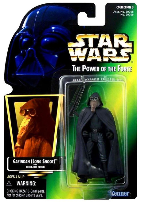 Star Wars A New Hope Power of the Force POTF2 Collection 3 Garindan Action Figure [Hologram Card]
