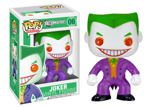 DC Universe Funko POP! Heroes The Joker Vinyl Figure #06 [DC Universe] (Pre-Order ships October)