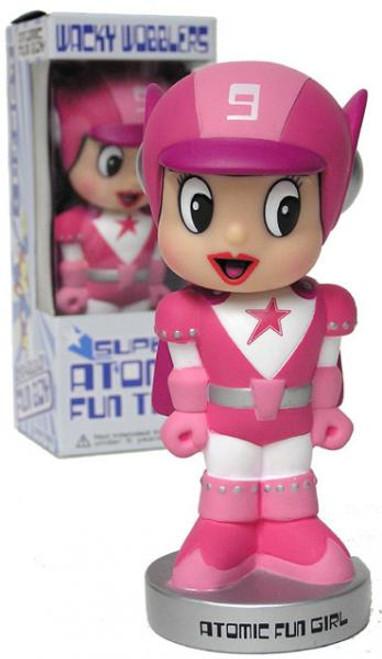 Funko Super Atomic Fun Team Wacky Wobbler Atomic Fun Girl Exclusive Bobble Head