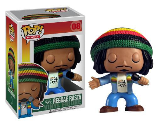 Funko POP! Rocks Reggae Rasta Bob Marley Vinyl Figure #08