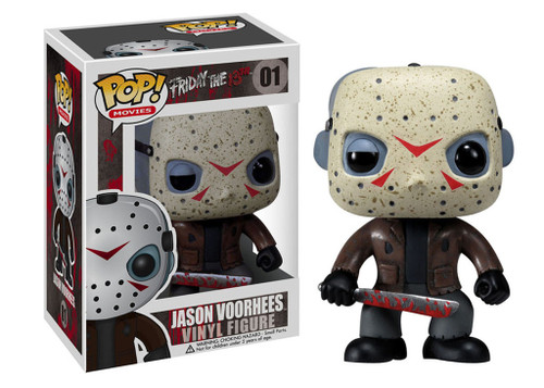 Friday the 13th Funko POP! Movies Jason Voorhees Vinyl Figure #01