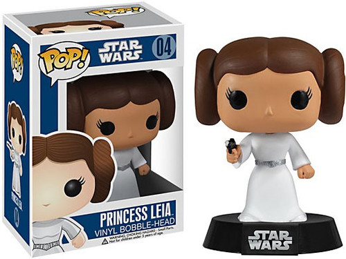 Funko POP! Star Wars Princess Leia Vinyl Bobble Head #04