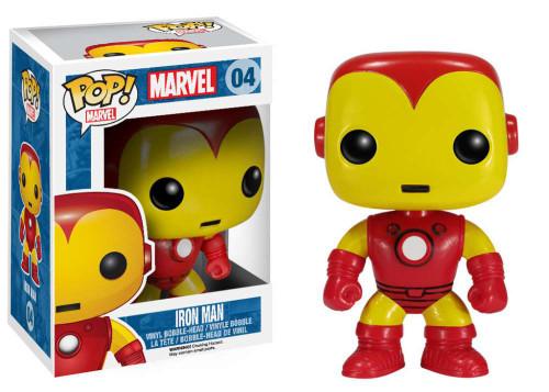 Marvel Universe Funko POP! Marvel Iron Man Vinyl Bobble Head #04