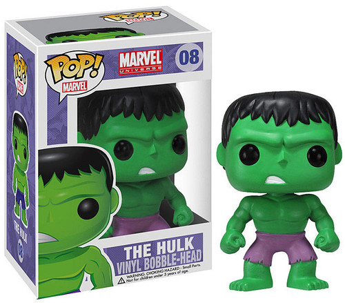 Marvel Universe Funko POP! Marvel Hulk Vinyl Bobble Head #08 [Purple Pants]