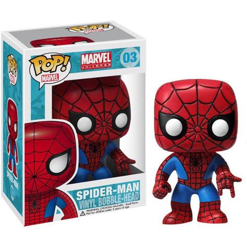Marvel Universe Funko POP! Marvel Spider-Man Vinyl Bobble Head #03