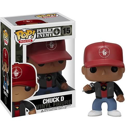 Public Enemy Funko POP! Rocks Chuck D Vinyl Figure #15