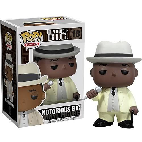 The Notorious B.I.G. Funko POP! Rocks Notorious BIG Vinyl Figure #18 [Biggie Smalls]