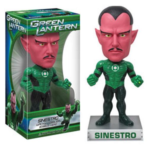 Funko Green Lantern Wacky Wobbler Sinestro Bobble Head