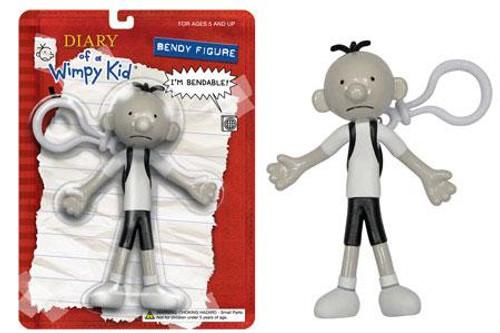 Funko Diary of a Wimpy Kid Greg Bendy Keychain