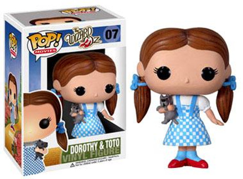 The Wizard of Oz Funko POP! Movies Dorothy & Toto Vinyl Figure #07