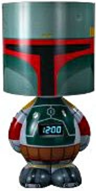 Funko Star Wars Empire Strikes Back Boba Fett Lamp, Alarm Clock & MP3 Speaker 12-Inch