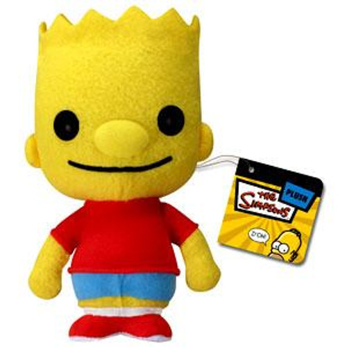 The Simpsons Funko 5 Inch Plushies Bart Simpson Plush