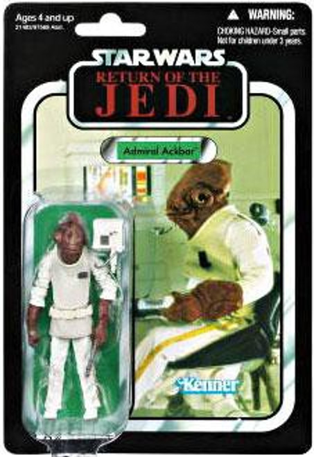 Star Wars Return of the Jedi Vintage Collection 2010 Admiral Ackbar Action Figure #22
