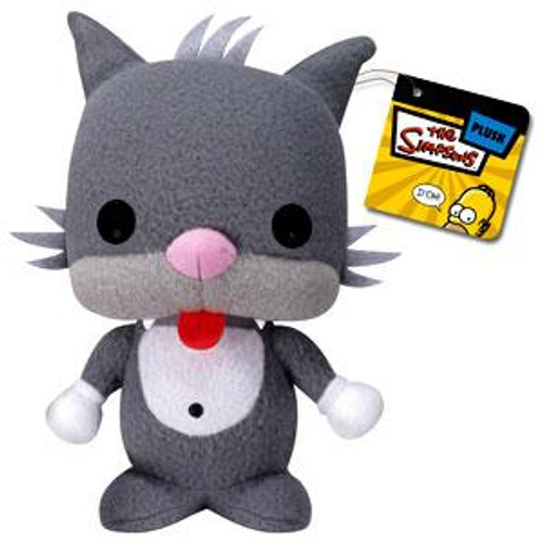 The Simpsons Funko 5 Inch Plushies Scratchy the Cat Plush