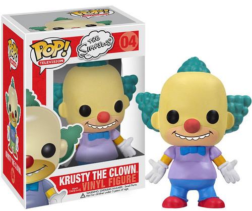 The Simpsons Funko POP! Television Krusty The Clown Vinyl Figure #04