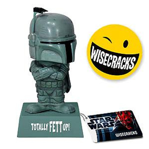 Funko Star Wars Wacky Wisecracks Boba Fett Figure [Totally Fett Up]
