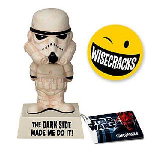 Funko Star Wars Wacky Wisecracks Stormtrooper Figure [The Dark Side Made Me Do It]