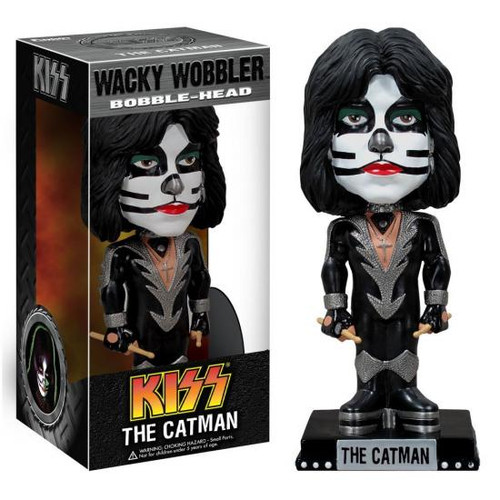 Funko KISS Wacky Wobbler The Catman Bobble Head