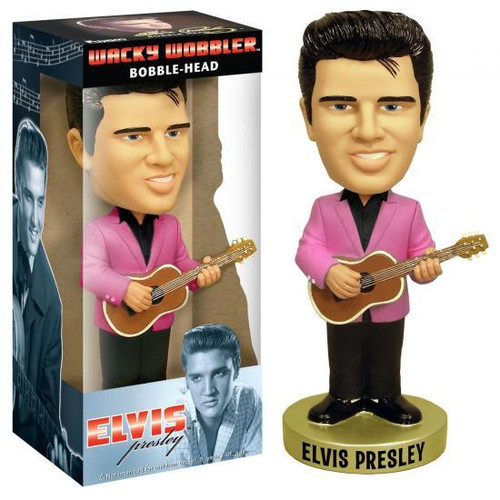 Funko Elvis Presley Wacky Wobbler 1950's Elvis Bobble Head