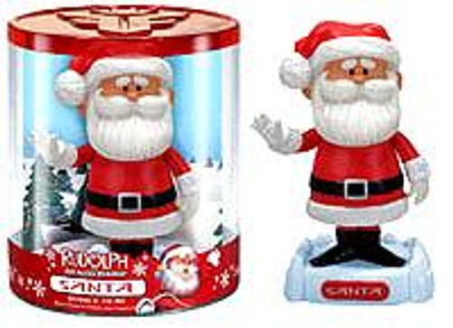 Funko Rudolph the Red-Nosed Reindeer Santa Claus Bobble Head