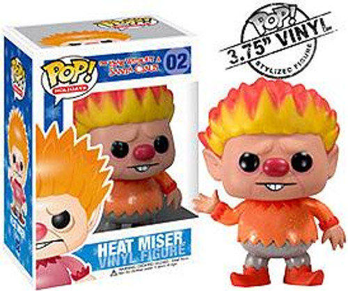 The Year Without Santa Claus Funko POP! Holidays Heat Miser Vinyl Figure #2