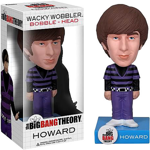 Funko The Big Bang Theory Wacky Wobbler Howard Bobble Head