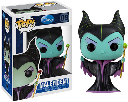 Sleeping Beauty Funko POP! Disney Maleficent Vinyl Figure #09 [Sleeping Beauty]